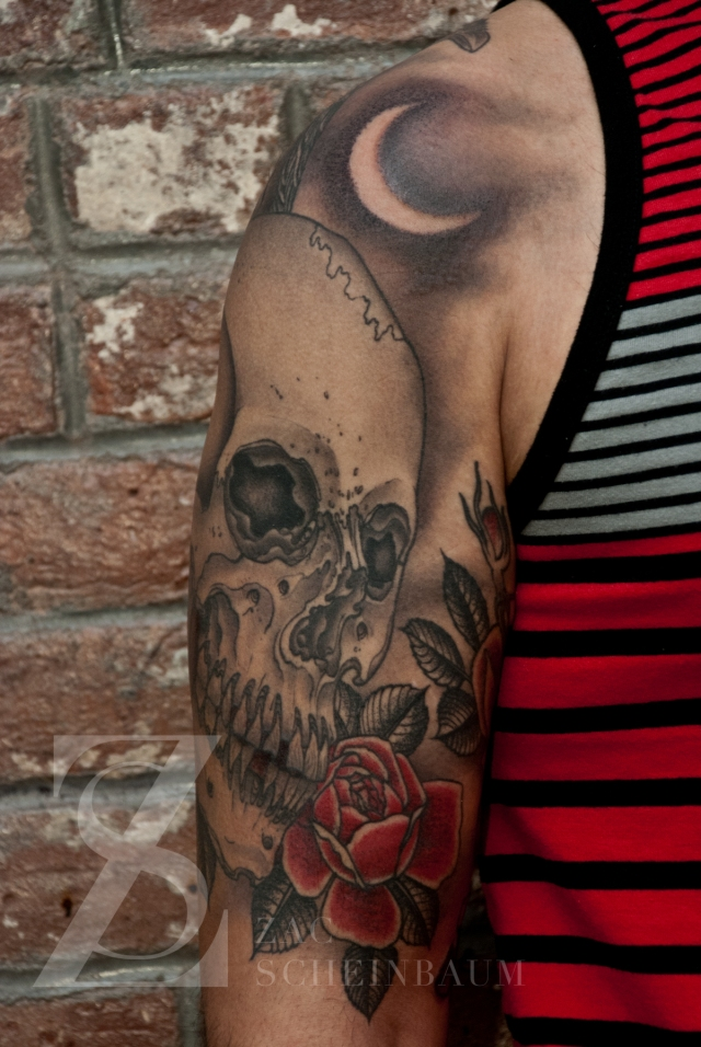 Zac Scheinbaum - Saved Tattoo-skull and raven 1-Full-2012 - 2012 - 1